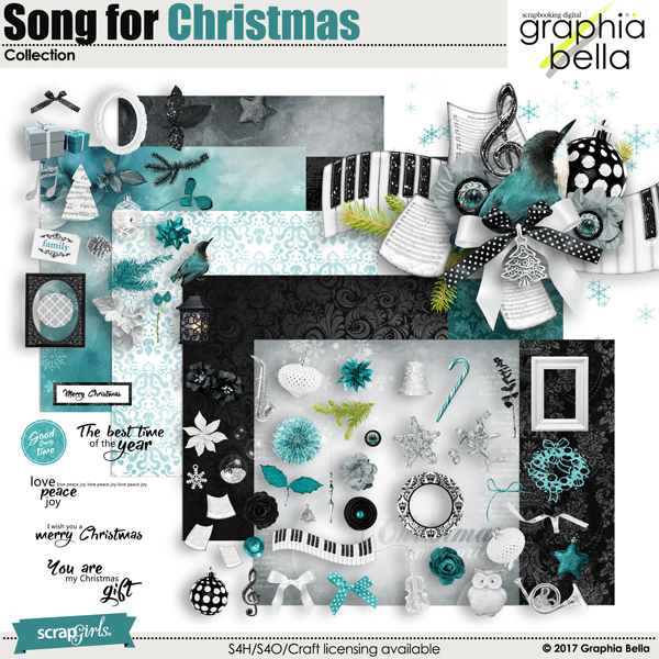 Song for Christmas by Graphia Bella