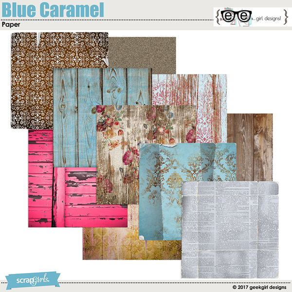 Blue Caramel Papers