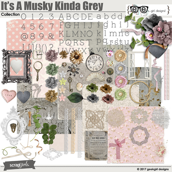 It's A Musky Kinda Grey Collection