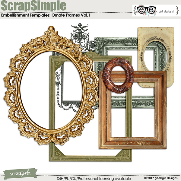 Ornate Frames Vol 1