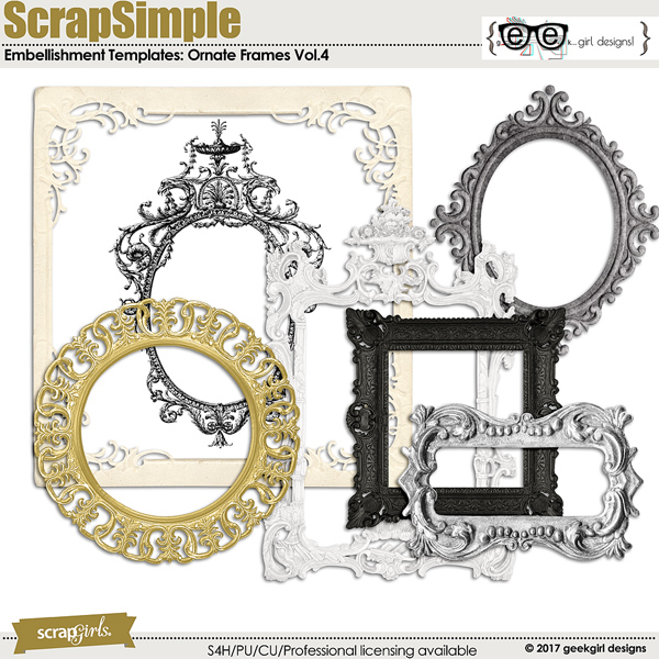 Ornate Frames Vol 4
