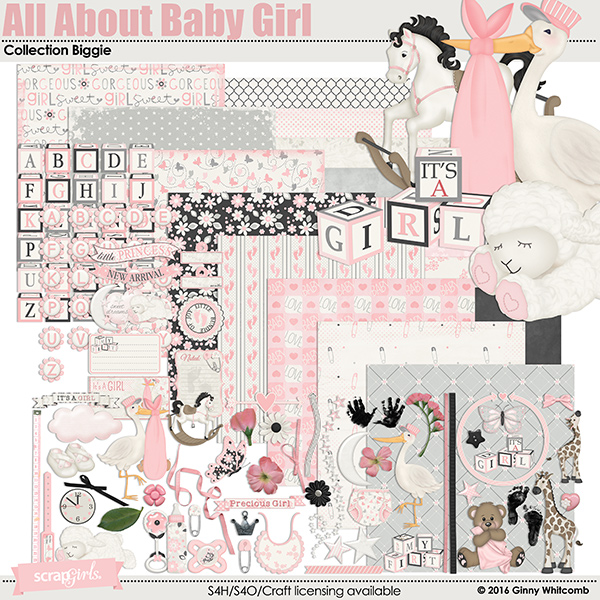 All About Baby Girl Collection Biggie