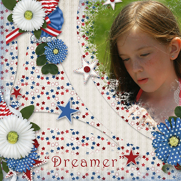 """Dreamer"" layout using the Big Bang Collection"