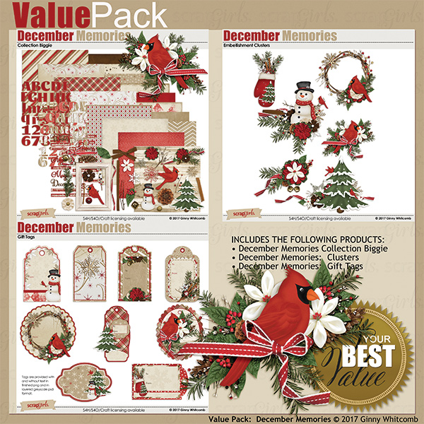 December Memories Value Pack