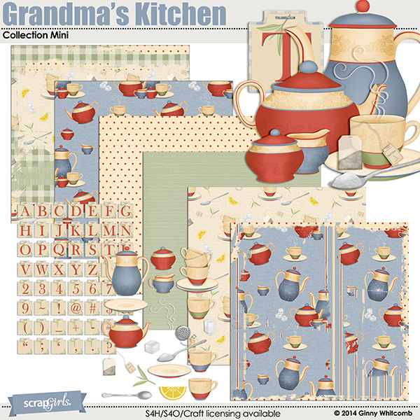 Grandma's Kitchen Collection Mini