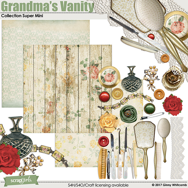 Grandma's Vanity Collection Super Mini