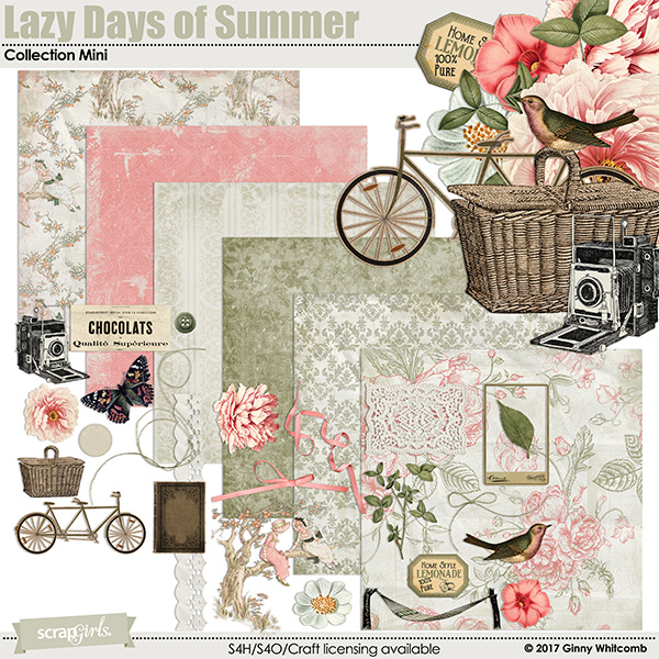 Lazy Days Of Summer Collection Mini