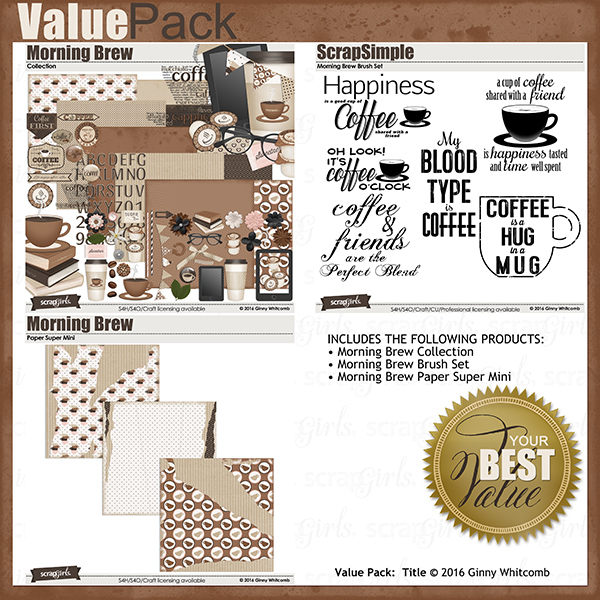 Value Pack:  Morning Brew