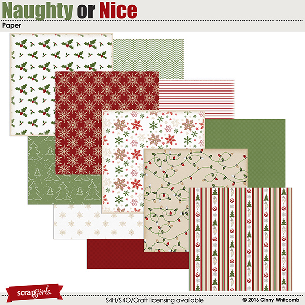 Naughty Or Nice Papers