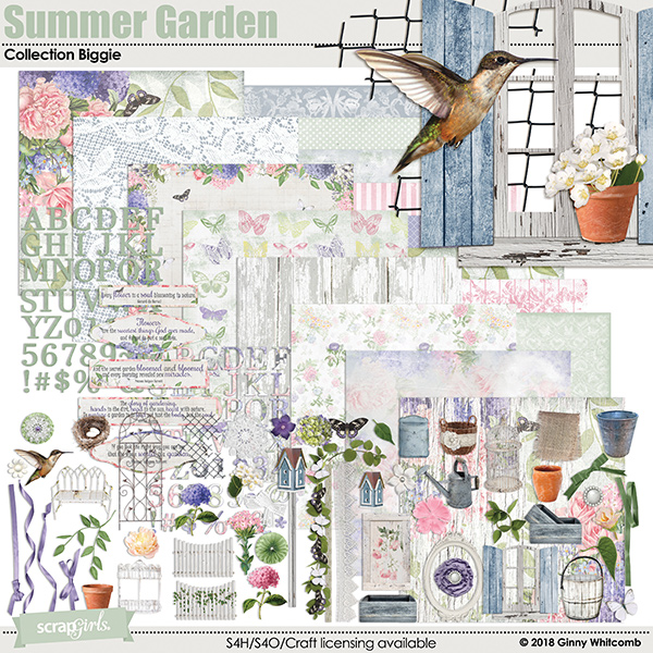 Summer Garden Collection Biggie