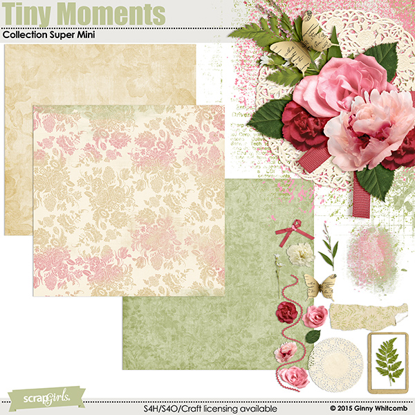 Tiny Moments Collection Super Mini By Ginny Whitcomb