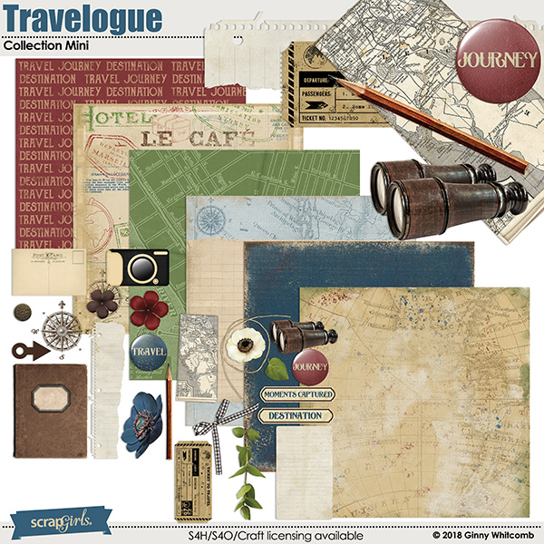 Travelogue Collection Mini
