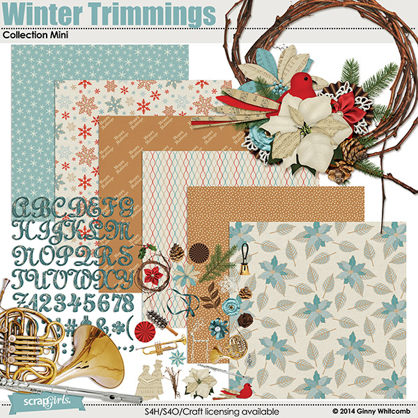 Winter Trimmings Collection Mini