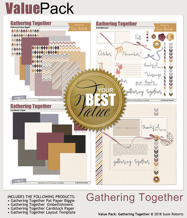 Value Pack: Gathering Rogether
