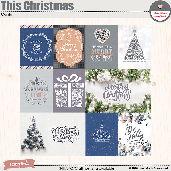 This Christmas - cards by HeartMade Scrapbook