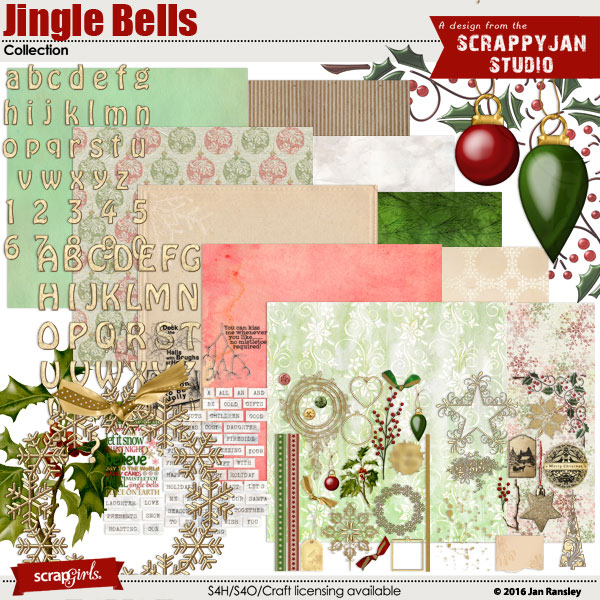 Jingle Bells Collection by Jan Ransley
