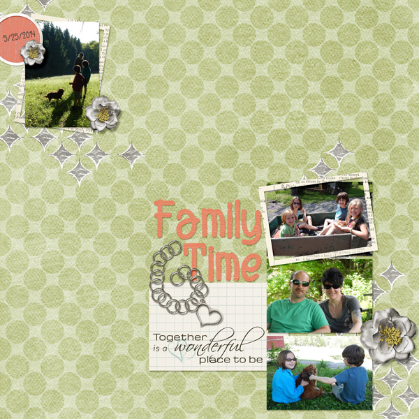 """Family Time"" by Jennifer Ziegler, featuring AYO: Alpha Tags"