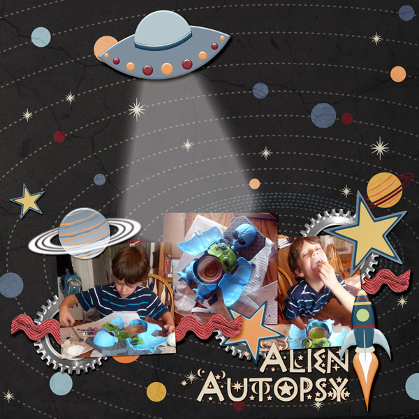 """Alien Autopsy"" by Jennifer Ziegler, featuring Beyond the Stars Collection"