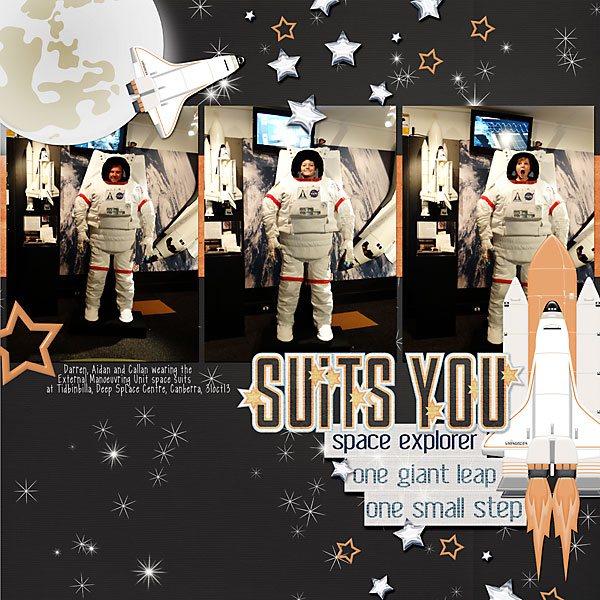 """Suits You"" by Jody West, featuring Beyond the Stars Collection"