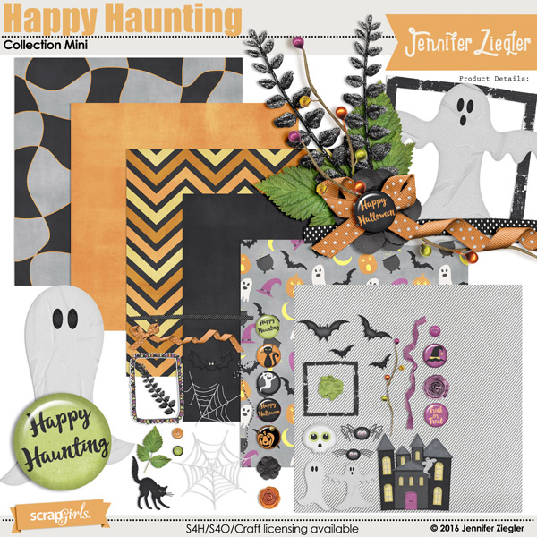 Happy Haunting Collection Mini