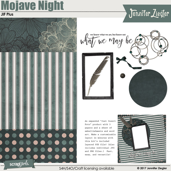 JIF Plus: Mojave Night