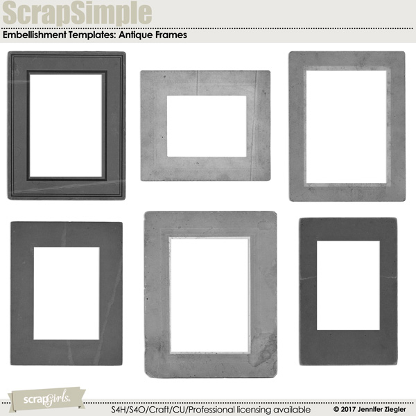 ScrapSimple Paper Templates