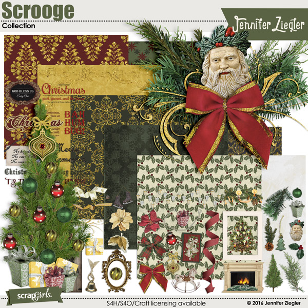 Scrooge Collection, by Jennifer Ziegler
