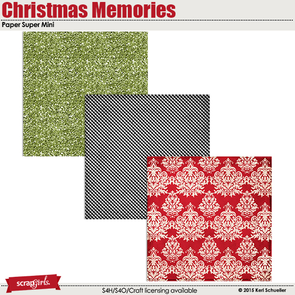 Christmas Memories Paper Super Mini