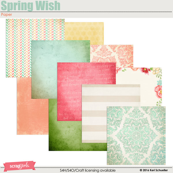 Spring Wish Paper