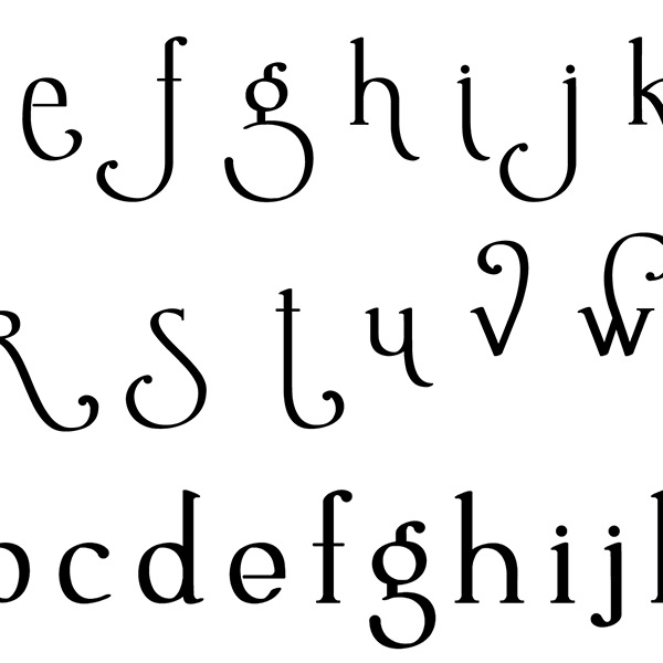 Close-up of Lettering Delights Ambrosia Bold Font