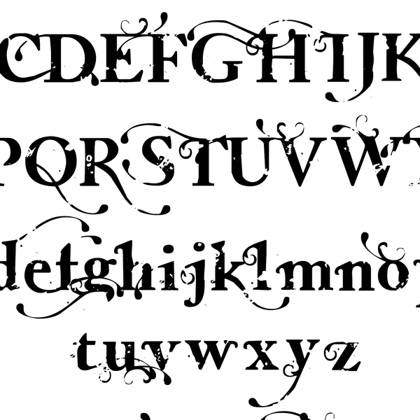 Close-up of Lettering Delights Eleanor Rae Font