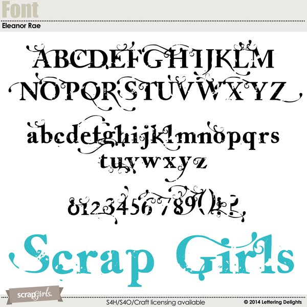 Lettering Delights Eleanor Rae Font