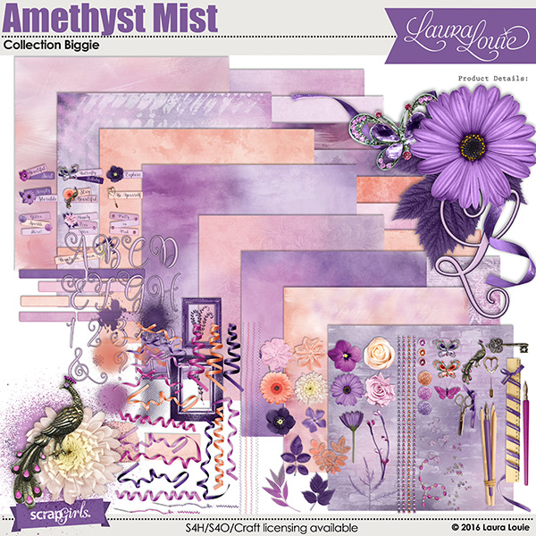 Amethyst Mist Collection Biggie