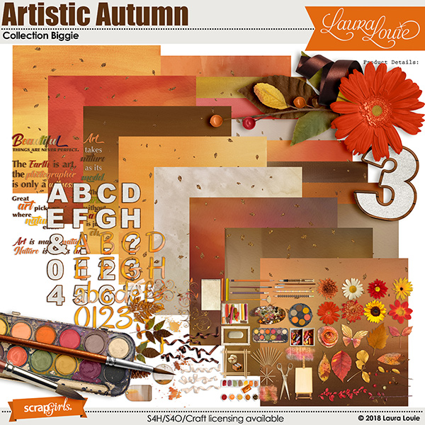 Artistic Autumn Collection Biggie