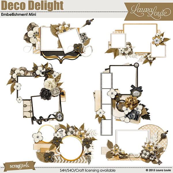 Deco Delight Embellishment Mini gives you even more options!