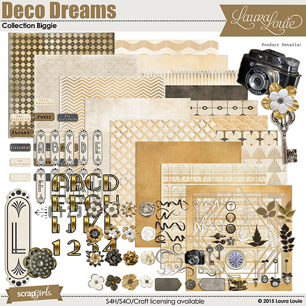 Deco Dreams Collection Biggie