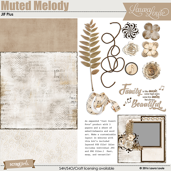 Muted Melody JIF Plus Kit