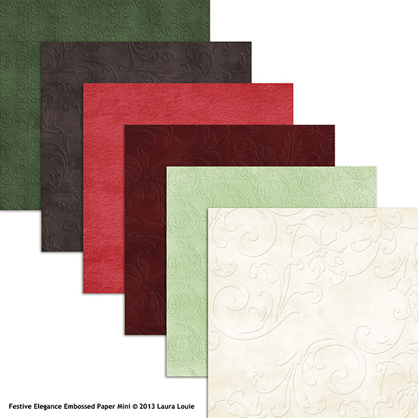 Also Available: Festive Elegance Solid Papers