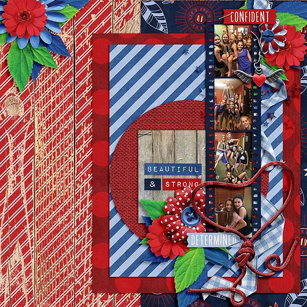 Layout by Joanna using Value Pack: Free To Be Me