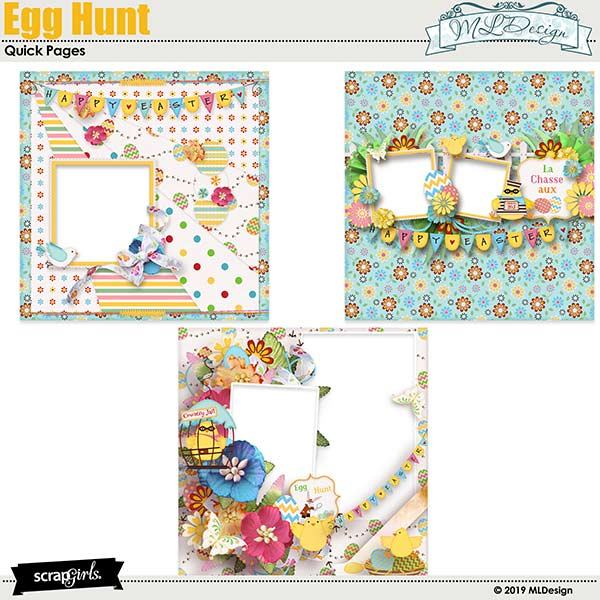 Egg Hunter Easy pages