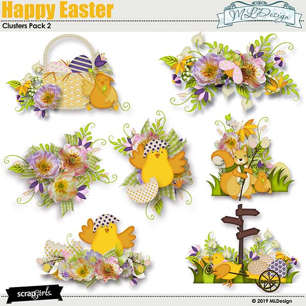 Happy Easter Clusters2