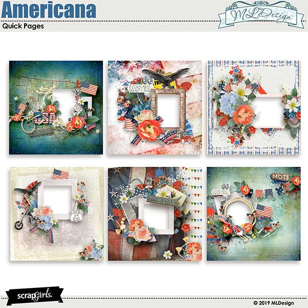 My Americana Easy Pages