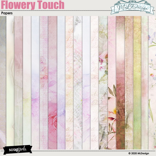 Flowery Touch Papers