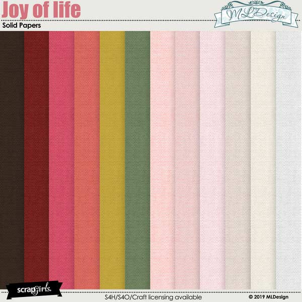 Joy of Life Solids Papers