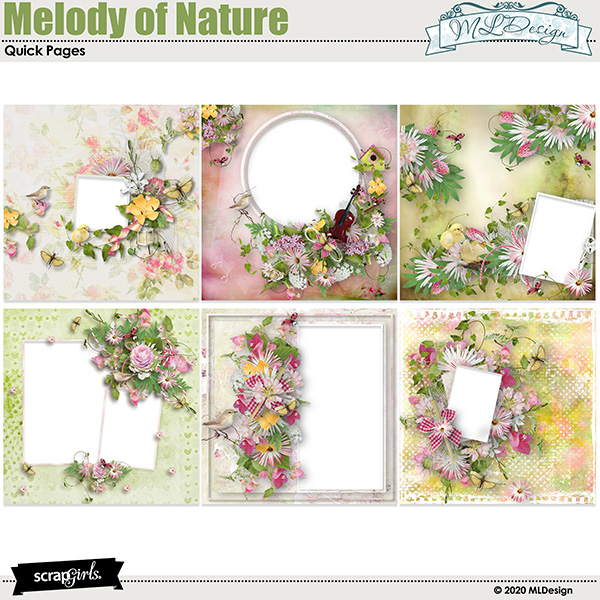 Melody of Nature Easy Pages