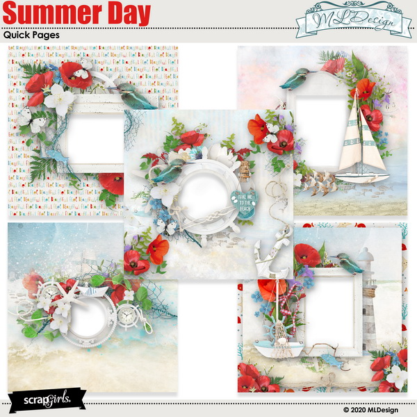 Summer Day Easy Pages