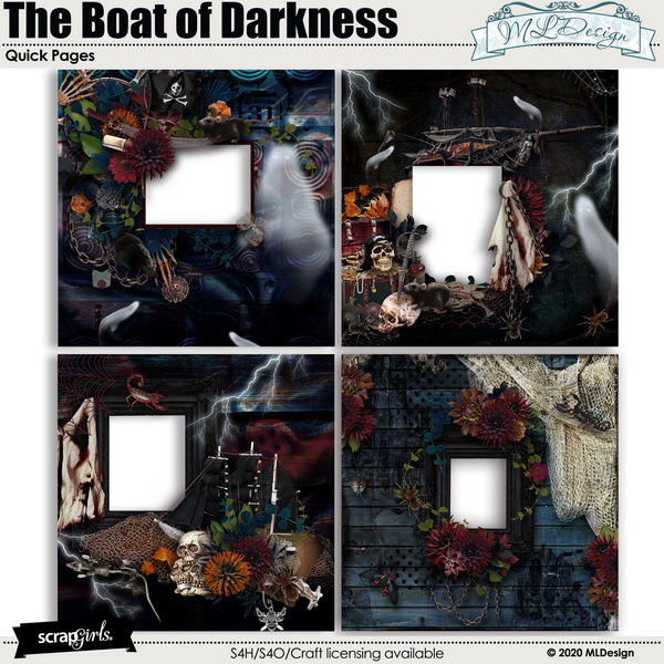 The Boat of Darkness Quick pages