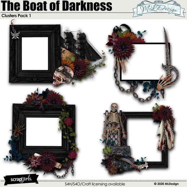 The Boat of Darkness Clusters
