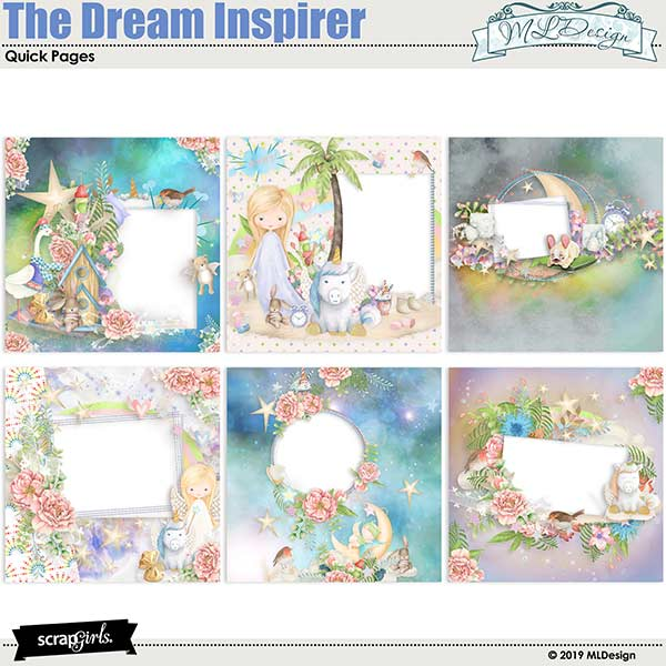 The Dream Inspirer Easy Pages