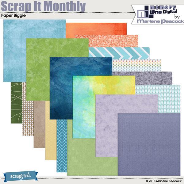 Scrap It Monthly Collection Biggie